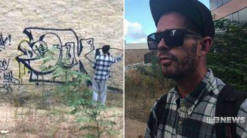 'It's a little bit of eye candy': Graffiti vandal charged