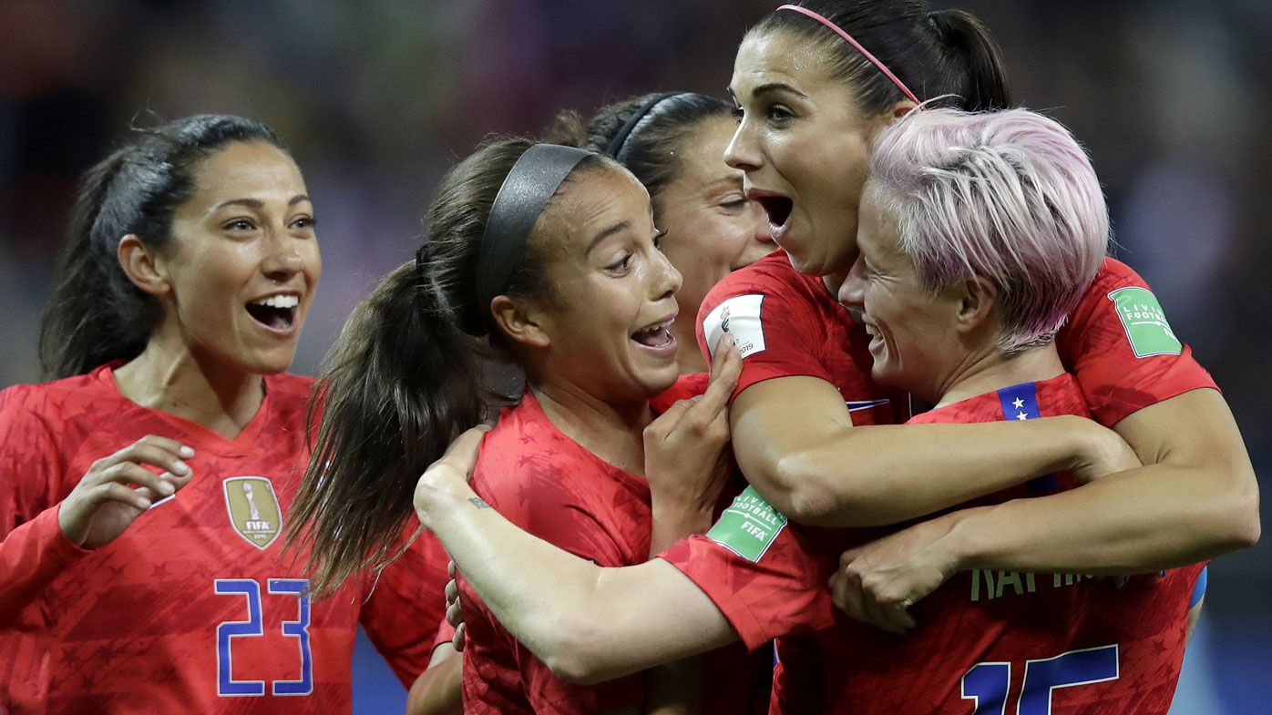 'Disgusting' USA celebrations slammed in 13-0 World Cup romp