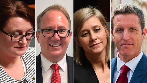 Labor Member for Braddon Justine Keay, Batman MP David Feeney, Labor Member for Longman Susan Lamb and Fremantle MP Josh Wilson could face High Court referral. (AAP/Facebook)