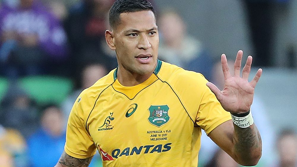 Wallabies star Israel Folau tweets opposition to legalising same-sex marriage