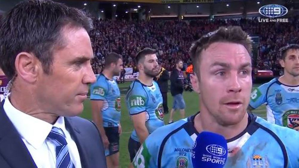 State of Origin: Blues five-eighth James Maloney said 'NSW deserve better' after series loss to Queensland Maroons