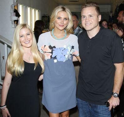 Heidi Montag, Stephanie Pratt and Spencer Pratt