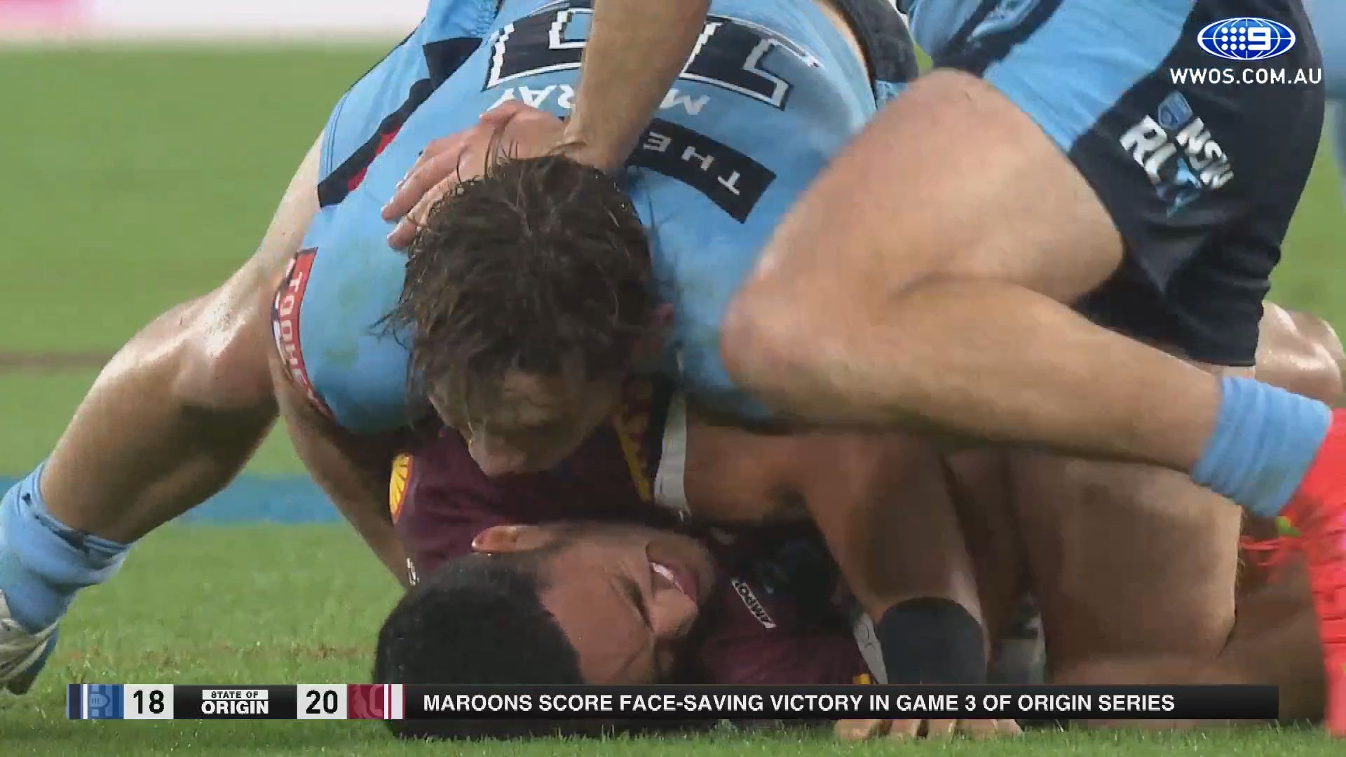 Valentine Holmes ruled out for a month with shoulder injury