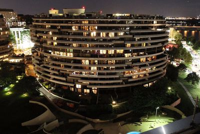 <strong>The Watergate Hotel,&nbsp;Washington, DC&nbsp;</strong>