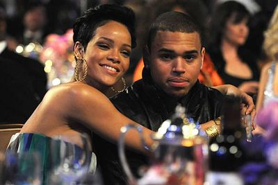 They seemed like the sweetest couple until Chris Brown beat the crap out of her the night before the 2009 Grammy Awards. Even after he made a horrible mess of her face, Rihanna reportedly tried to work things out with her man. After pressure from family, managers and fan, she gave him the flick, testified against him in court and slapped him with a restraining order.