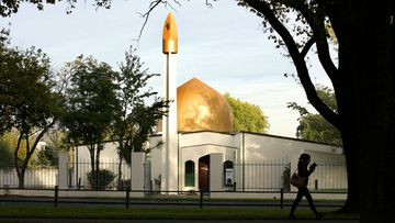 The Al Noor Mosque on Deans Avenue, the scene of a mass shooting, March 15, 2019, Christchurch.