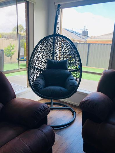 Aldi Belavi wicker chair