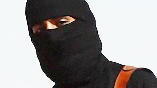 The masked killer known as Jihadi John speaks with a British accent. (AAP)
