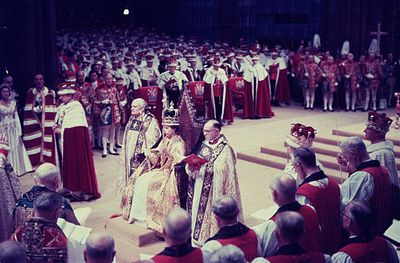 Queen Elizabeth II's coronation, June 2, 1953