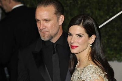 """Sandra Bullock once gushed about her hubby Jesse James, """"This man has my back."""" Turns out he was doing it behind her back... with at least 11 women during their five year marriage."""
