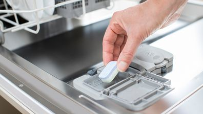 An expert weighs in on the right way to use a dishwasher tablet in your appliance.