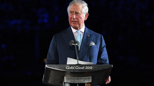 Commonwealth Games 2018: Police collide in Prince Charles' motorcade