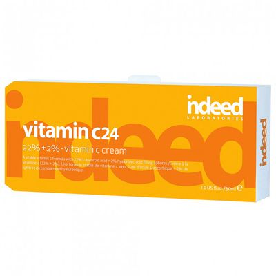"<a href=""https://www.indeedlabs.com/products/vitamin-c24"" target=""_blank"">Indeed Laboratories</a> Vitamin C24, $36.99."