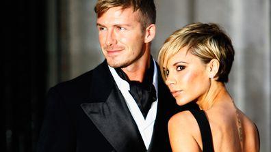 David and Victoria Beckham in 2007