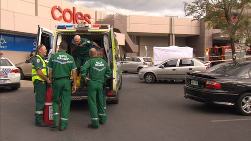 Emergency services at the scene three years ago. Picture: 9NEWS
