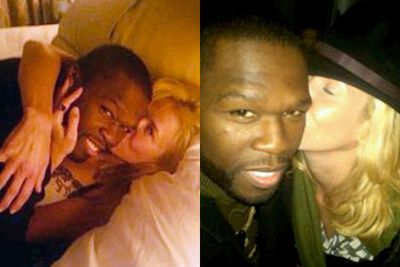 Chelsea Handler and 50 Cent