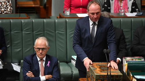 The PM and his deputy have met to resolve their public spat.