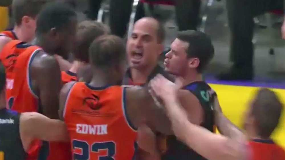 Cadee faces fine over Kings-Taipans melee