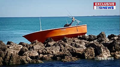 Lucky escape after Perth boat crash