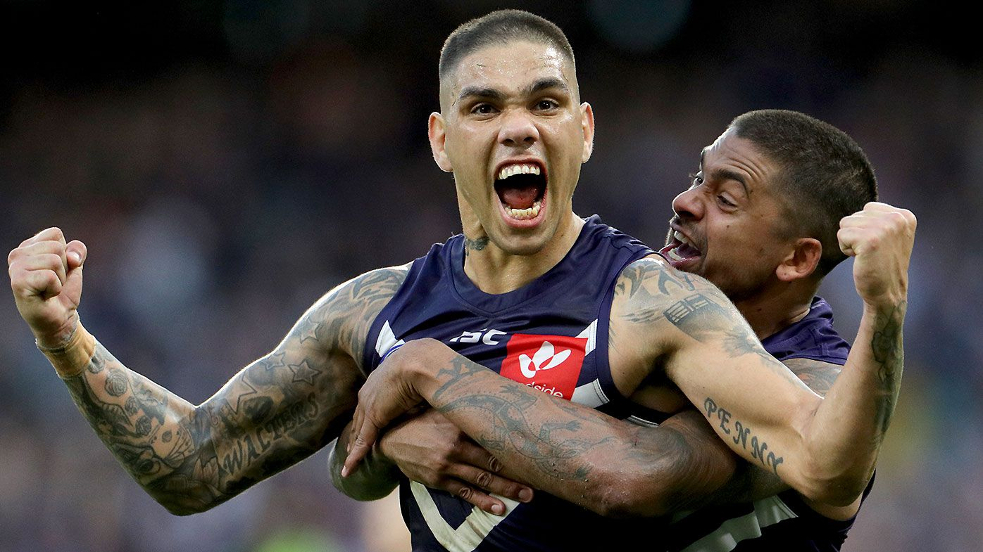 'Best left-foot kick in the game': Fremantle sharpshooter Michael Walters hits Port Adelaide for six