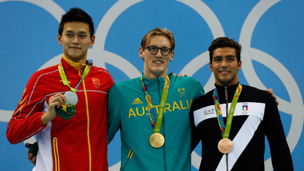 Australia rejects calls for Mack Horton to apologise to Sun Yang. (AAP)