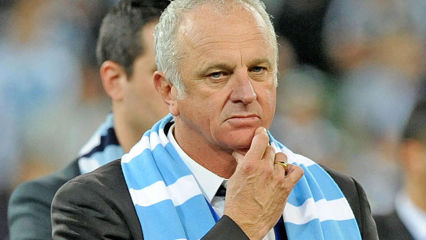 Graham Arnold. (Getty-file)