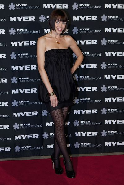 Danni Minogue at the Myer Precious Metal Ball in Melbourne, May, 2009
