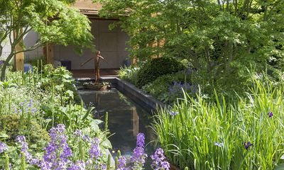 The Morgan Stanley Garden for Great Ormond Street Hospital, designed by Chris Beardsha
