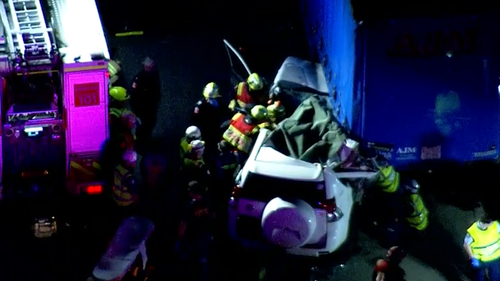 Woman injured in Eastern Creek crash