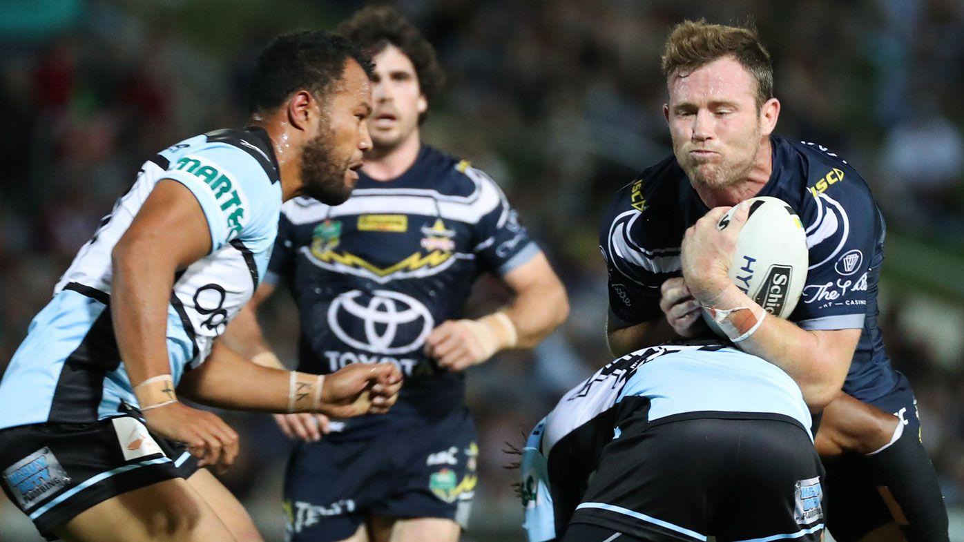 North Queensland backrower Gavin Cooper stands by Sharks leg twist claim