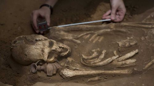Researchers have concluded that the Philistines most likely migrated to the present day Israel and Gaza Strip from Europe.