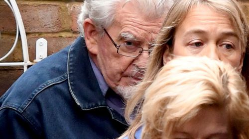 Disgraced Australian entertainer Rolf Harris.