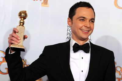 As much as we love Mr Baldwin, and as consistently excellent as he is on <i>30 Rock</i>, we're kinda glad to see Jim Parsons win this. He adds this Golden Globe to his Emmy for the role of Sheldon Cooper. Let's face it, his performance is the big reason most of us watch <i>The Big Bang Theory</i>.