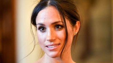 Meghan Markle hair up
