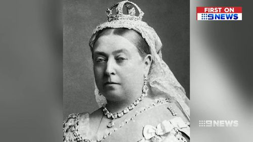 It's believed the pair of knickers belonged to Queen Victoria. (9NEWS)