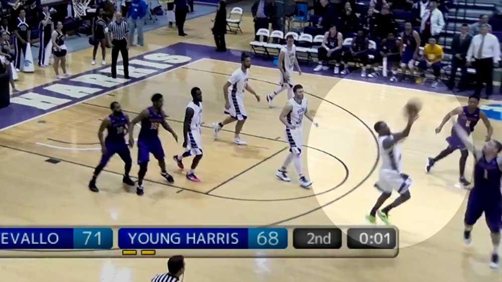 Basketball: Announcer asks for forgiveness for lack of faith