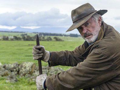 Rams movie, Sam Neill, filming, farm, Western Australia