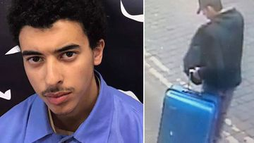 Hashem Abedi (left) and brother Salman Abedi (right)