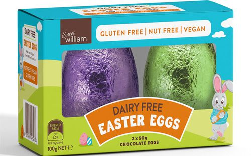 A dairy-free Easter egg, which was also sold at Aldi stores.