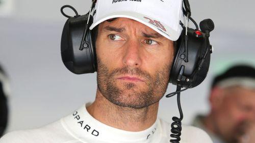 Mark Webber. (AAP)