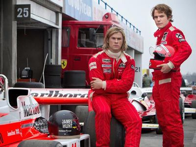 <strong>Best Motion Picture - Drama: <em>Rush</em></strong> <p> <em>Rush </em>is the final movie in the drama category. At this rate, the movie could be speeding to success at next year's Oscars...