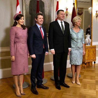 Princess Mary and Prince Frederik visit Latvia, December 2018