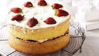 <strong>Grandma's sponge cake</strong>