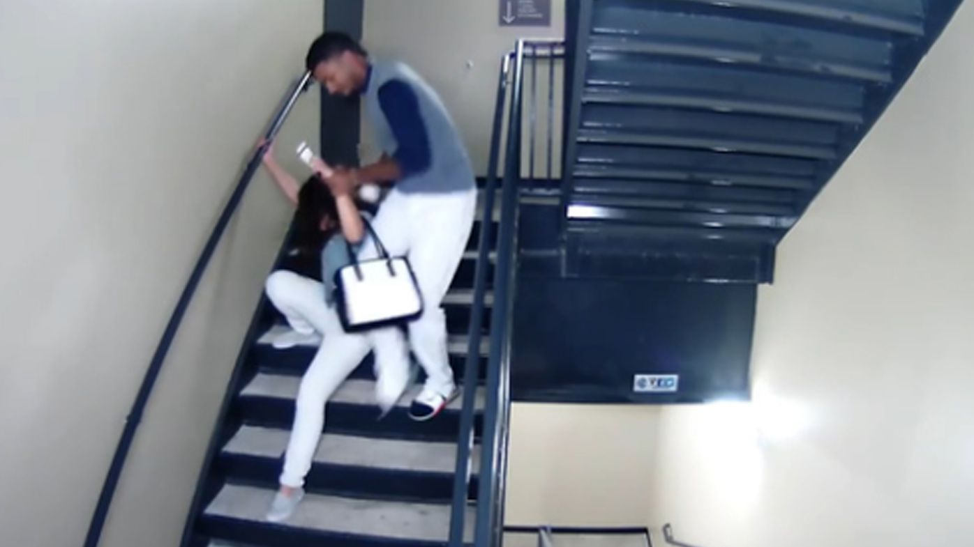 Footage released of baseball player Danry Vasquez assaulting girlfriend