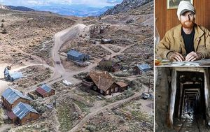 Man trapped for six months in abandoned US ghost town