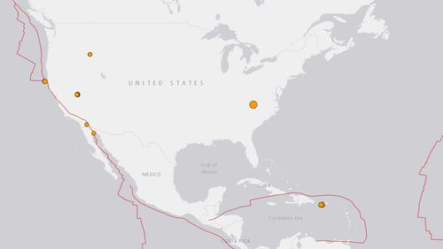 'This is crazy': North Carolina hit by 5.1-magnitude quake