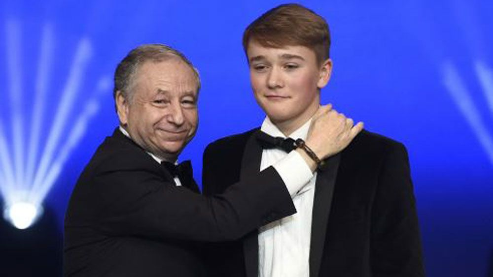 Lewis Hamilton crowned Formula One champ but teenage amputee Billy Monger steals show at FIA awards