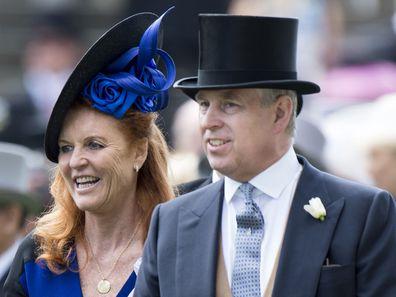 Prince Andrew and Sarah Ferguson divorce