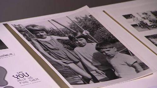The three missing children. (9NEWS)