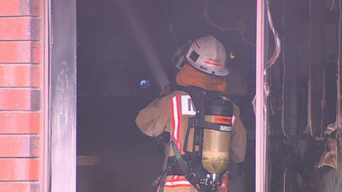 Firefighters responded to the gym fire in Dulwich, Adelaide. (9NEWS)